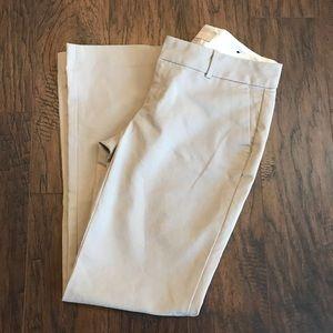 Banana Republic Martin Khaki Pants Trousers Size 4